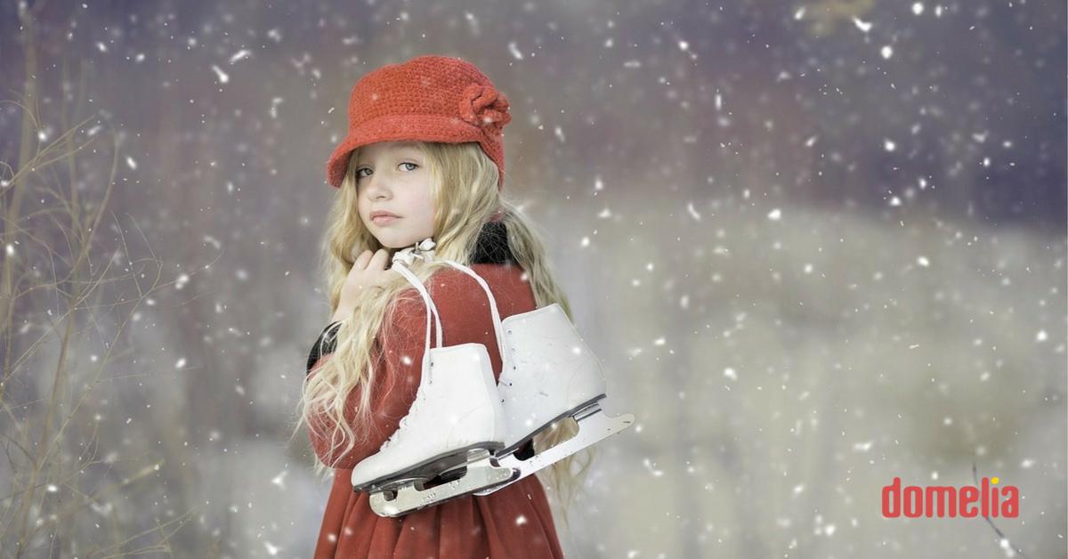 Domelia: Ako naučiť deti korčuľovať sa