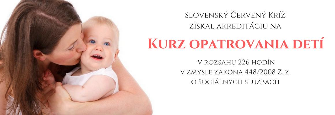 Kurz opatrovania Slovenský Červený kríž (2)